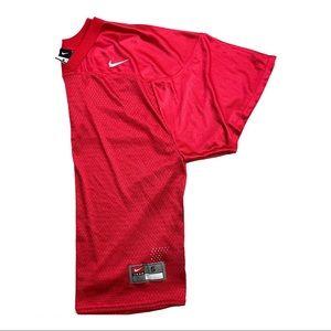 Nike Unisex Red NylonMesh Football Jersey Size S